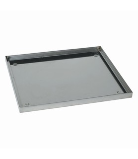 Stainless Steel Glass Basket Drip Tray 350 x 350mm