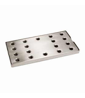 Stainless Steel Drip Tray With Insert 385 x 195mm