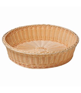 Round Acrylic Basket 400 x 110mm