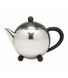 Stainless Steel Bowling Teapot 700ml