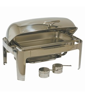 Deluxe Stainless Steel Chafing Dish