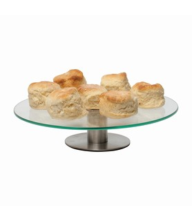 Glass Cake Stand 300mm