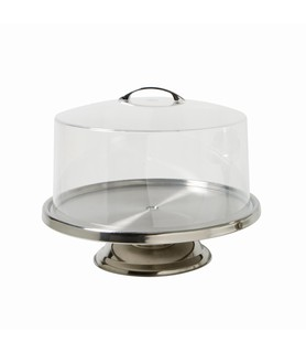 Stainless Steel Low Cake Stand 300mm