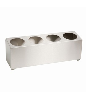 4 Hole Cylinder Cutlery Holder