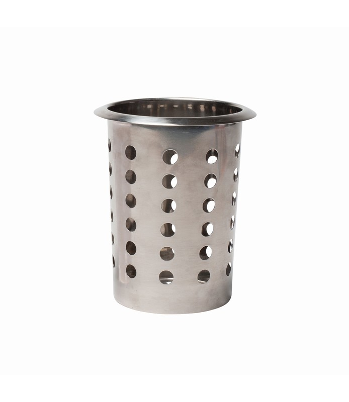 Stainless Steel Cylinder Cutlery Holder