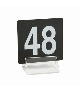 Acrylic Tent Menu Holder