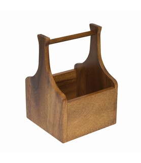 Single Wooden Table Caddy