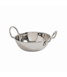 Stainless Steel Mini Kadai Bowl 130mm