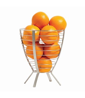Stainless Steel Tall Fruit Basket