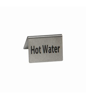 Stainless Steel Hot Water Buffet Sign