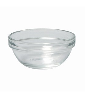 Empilable Glass Stackable Bowl 14cm