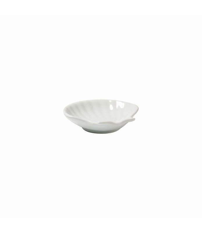 Host Classic White Mini Shell Dish 77 x 82mm