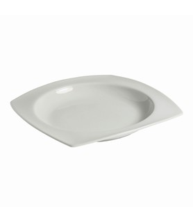 Host Classic White Rounded Square Bowl 300mm