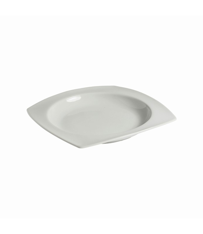 Host Classic White Rounded Square Bowl 210mm