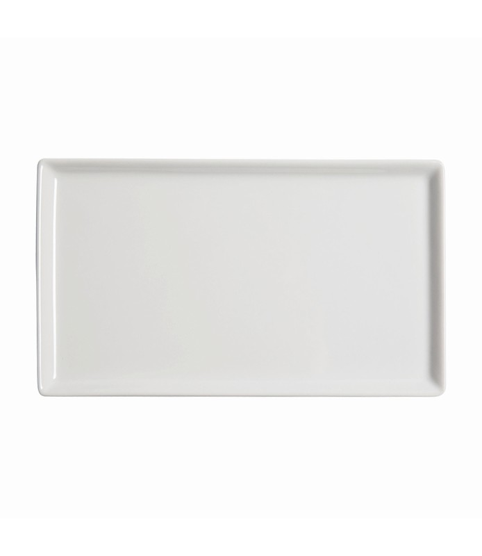 Host Classic White Flat Rectangle Plate 305 x 180mm