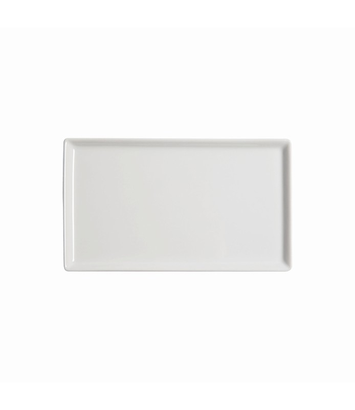 Host Classic White Flat Rectangle Plate 205 x 115mm