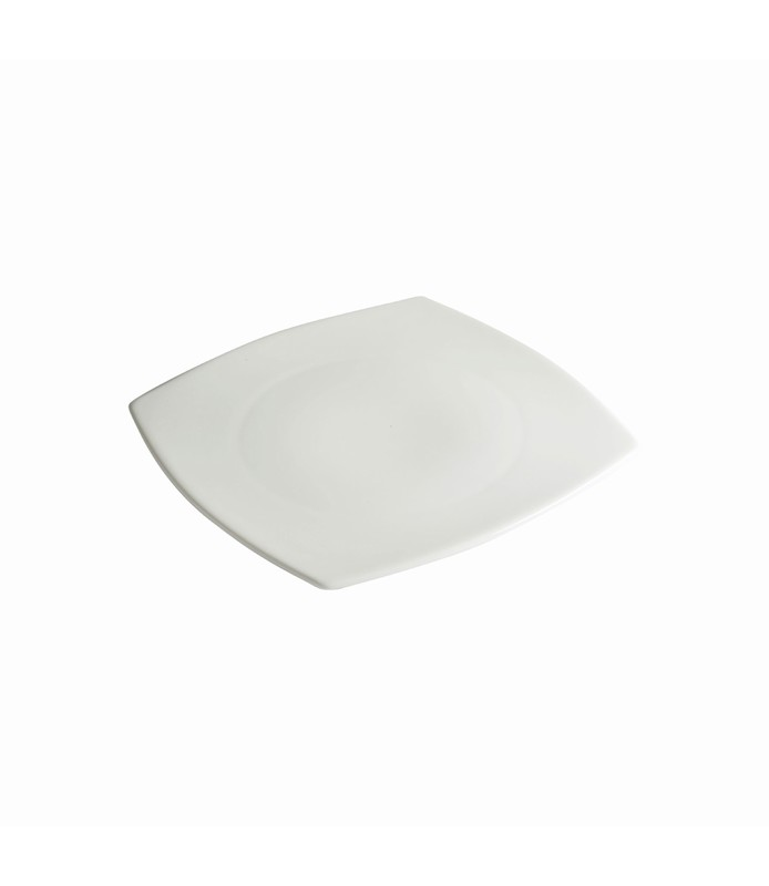Host Classic White Rounded Square Plate 190mm
