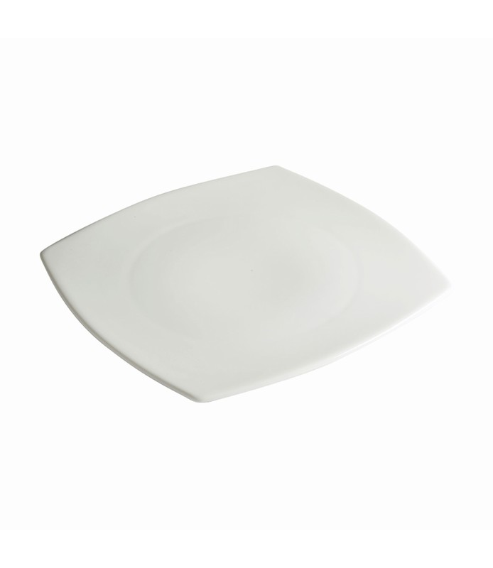 Host Classic White Rounded Square Plate 270mm