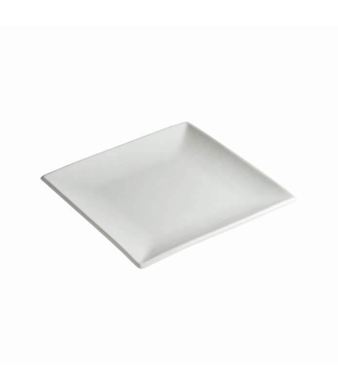 Host Classic White Square Plate 180mm