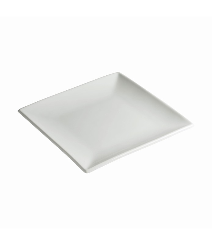 Host Classic White Square Plate 240mm