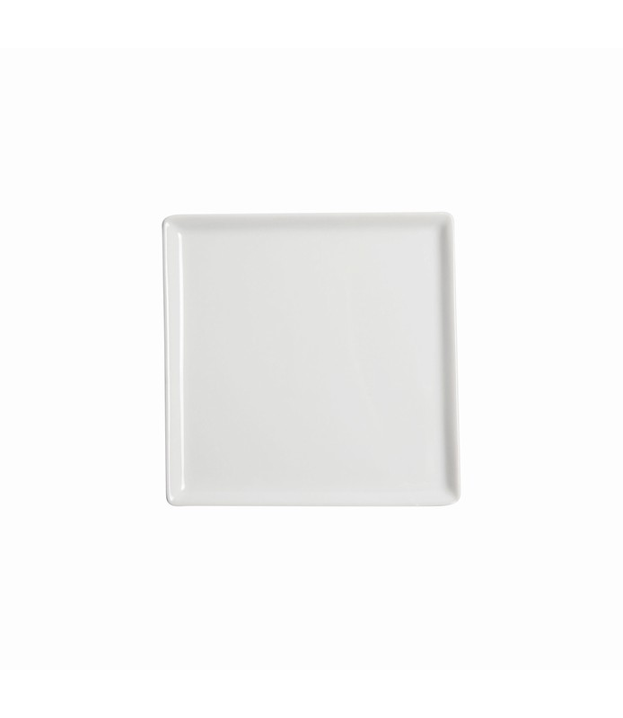 Host Classic White Flat Square Plate 150 x 150mm