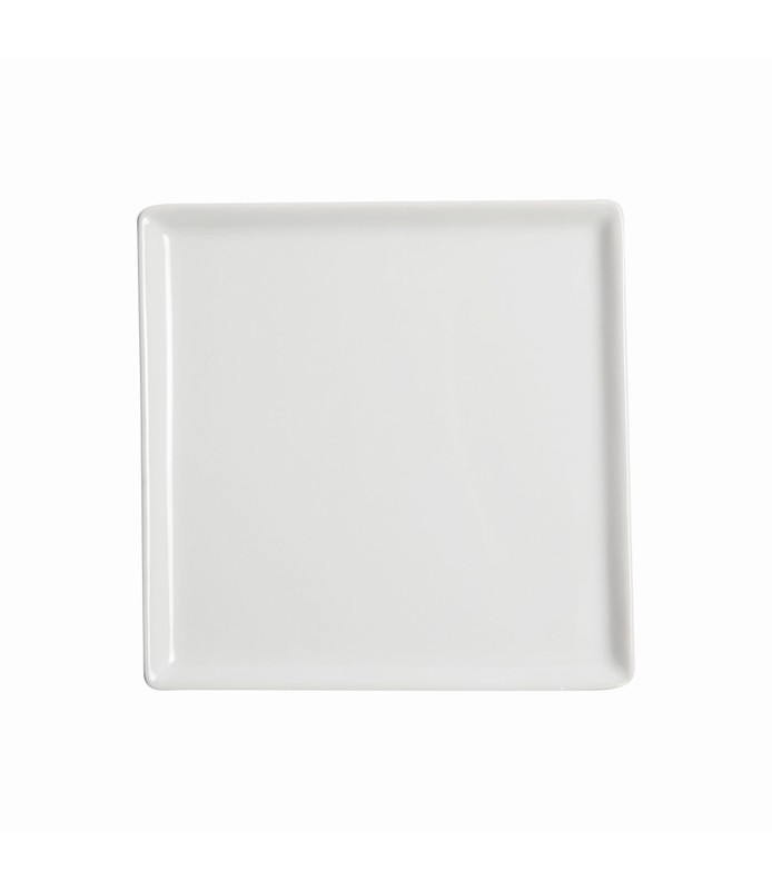 Host Classic White Flat Square Plate 220 x 220mm