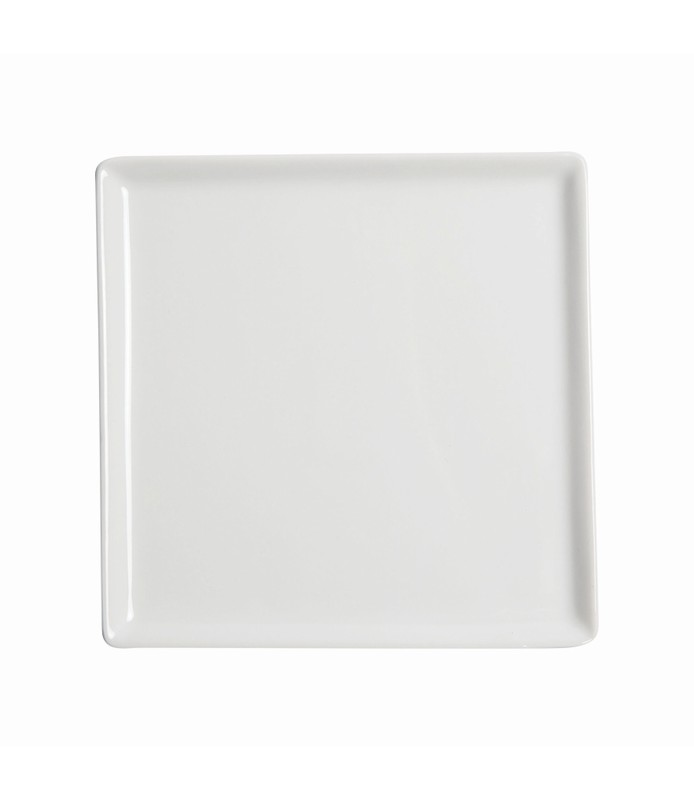 Host Classic White Flat Square Plate 270 x 270mm