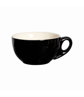 Lulu Cappuccino Cup Black 220ml