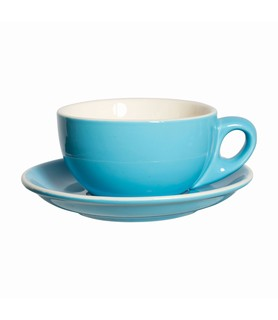 Lulu Cappuccino Cup Blue 220ml