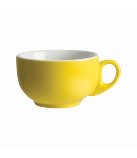 Lulu Cappuccino Cup Yellow 220ml