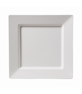 Melamine Square Platter White 400mm