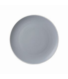 Mist Round Coupe Plate Blue 150mm