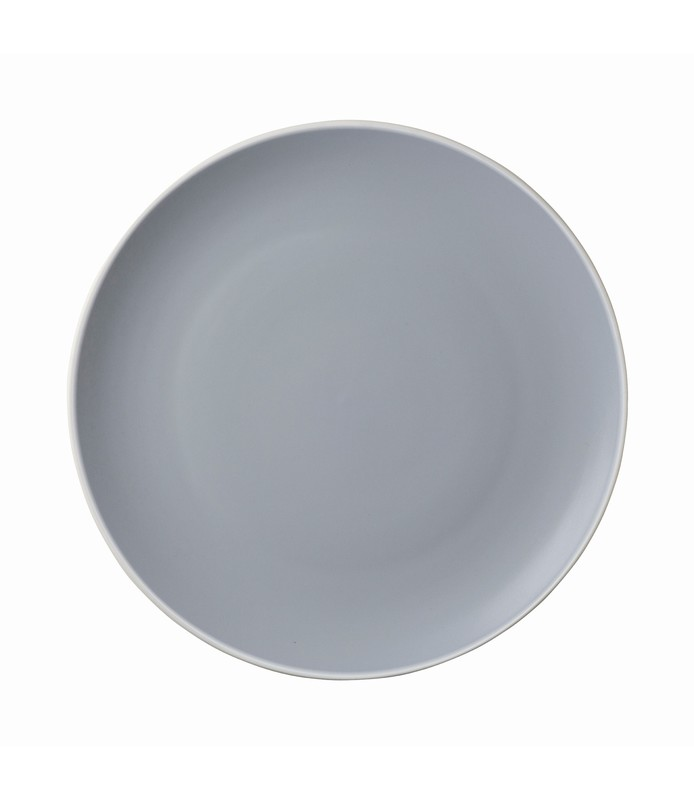 Mist Round Coupe Plate Blue 180mm
