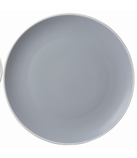 Mist Round Coupe Plate Blue 270mm