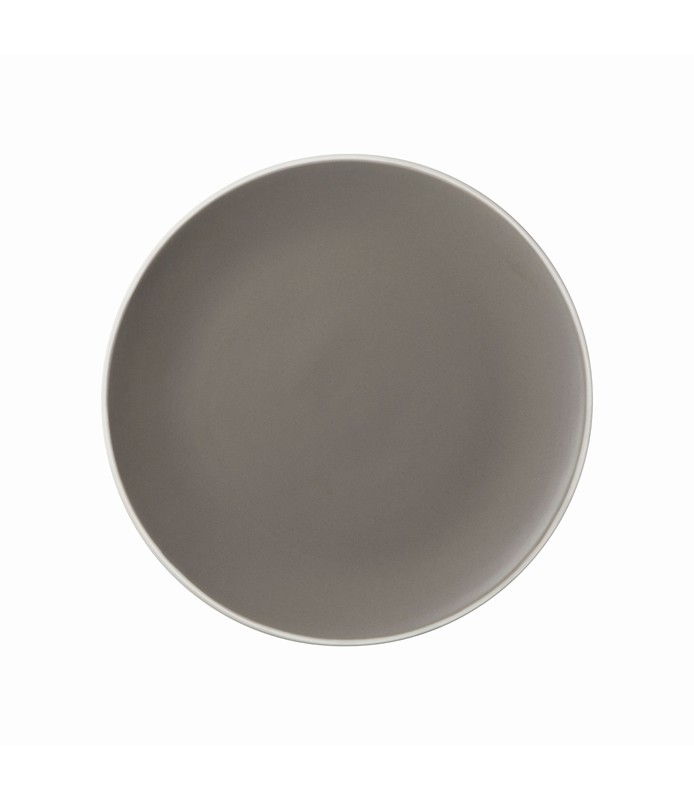 Mist Round Coupe Plate Grey 150mm