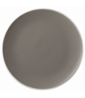 Mist Round Coupe Plate Grey 270mm