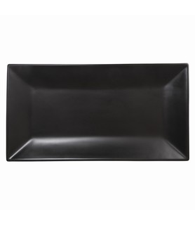 Onyx Rectangular Plate 310 x 180mm