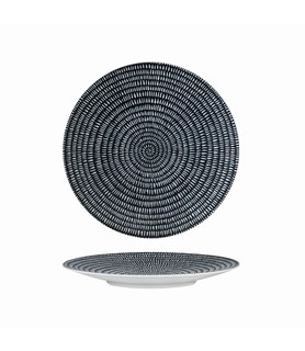 Luzerne Zen Coupe Plate Round Storm 205mm