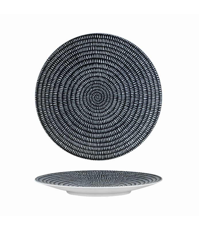 Luzerne Zen Coupe Plate Round Storm 235mm