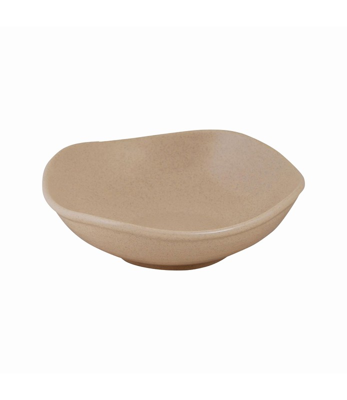Zuma Organic Shape Bowl Sand 170mm