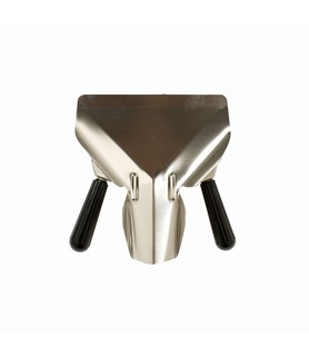 Stainless Steel Double Handled Chip Scoop