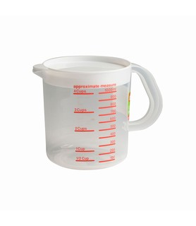 Decor Measuring Jug With Lid 1L