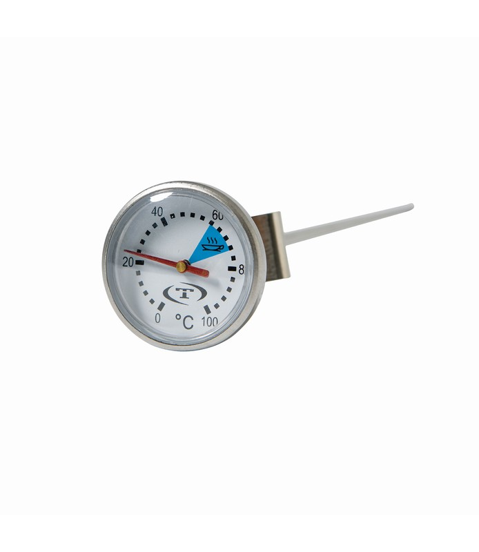 Stainless Steel Coffee Thermometer Probe with Clip