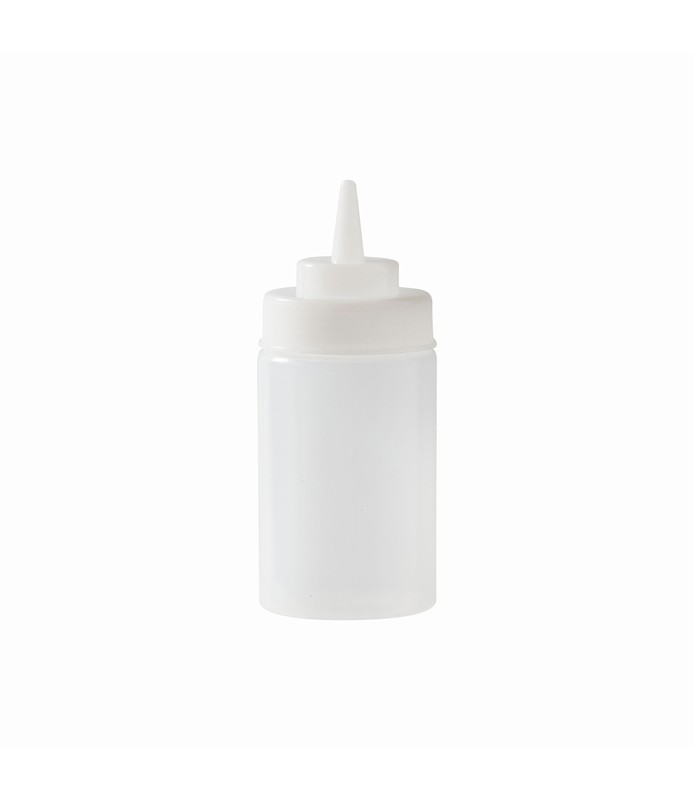 Clear Squeeze Bottle 340ml