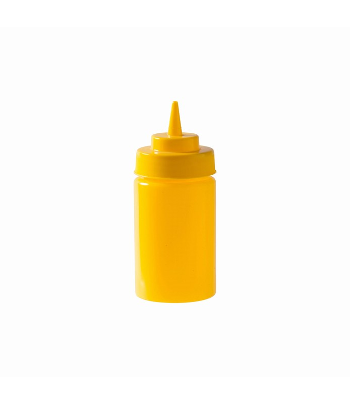 Yellow Squeeze Bottle 340ml