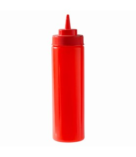 Red Squeeze Bottle 720ml