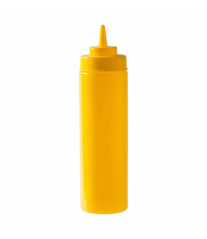 Yellow Squeeze Bottle 720ml
