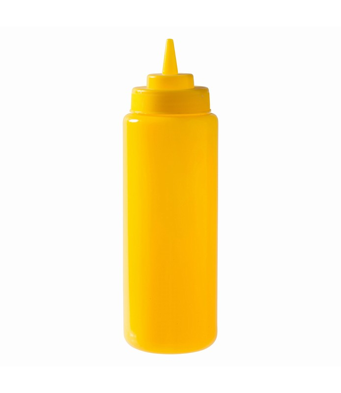 Yellow Squeeze Bottle 1L