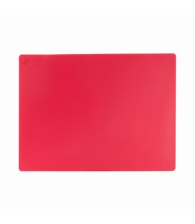 Red Cutting Board Small 450 x 300 x 13mm