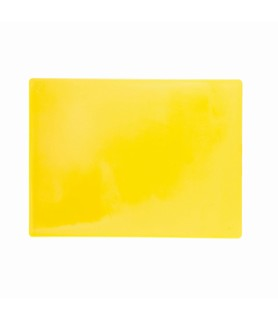 Yellow Cutting Board Small 450 x 300 x 13mm